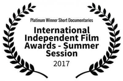 Platinum Winner - International Independent Film Awards