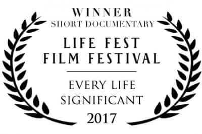 Winner Short Documentary - Life Fest Film Festival