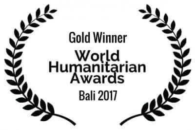 Gold Winner - World Humanitarian Awards